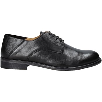 Topánky Muži Derbie Exton 3101 čierna