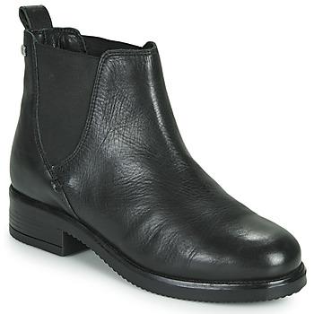 Topánky Ženy Polokozačky Musse & Cloud PRITI Čierna