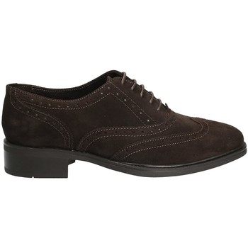 Topánky Ženy Derbie Marco Ferretti 140424 Hnedá