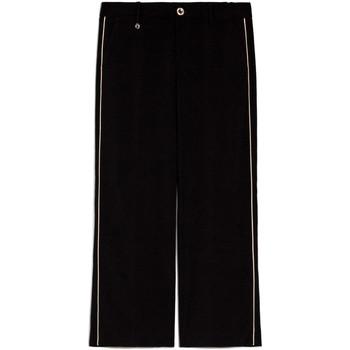 Oblečenie Ženy Padavé nohavice NeroGiardini E060140D čierna
