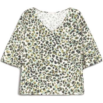 Oblečenie Ženy Tričká s krátkym rukávom NeroGiardini E062770D Zelená