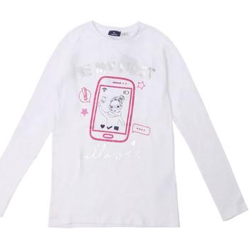 Oblečenie Deti Tričká s dlhým rukávom Chicco 09006871000000 Biely