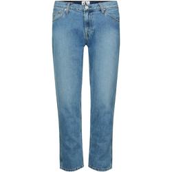 Oblečenie Ženy Rifle Slim  Calvin Klein Jeans J20J212767 Modrá
