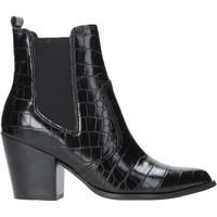 Topánky Ženy Čižmičky Steve Madden SMSPATRICIA-BLKCRO čierna