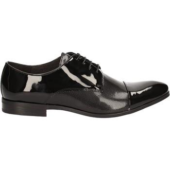 Topánky Muži Richelieu Rogers 7186A čierna