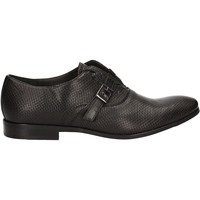 Topánky Muži Richelieu Rogers 1654B čierna