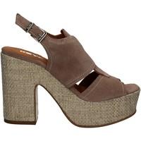 Topánky Ženy Sandále Keys 5263 Béžová