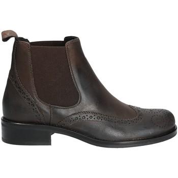 Topánky Ženy Polokozačky Mally 4591 Hnedá