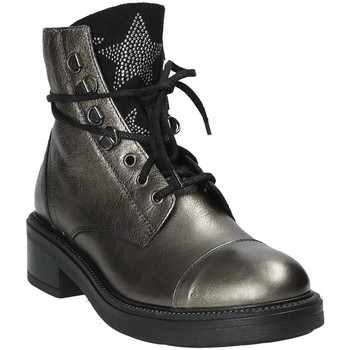 Topánky Ženy Čižmičky Mally 6019 Striebro