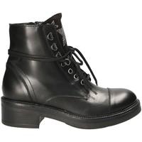 Topánky Ženy Polokozačky Mally 6019 čierna