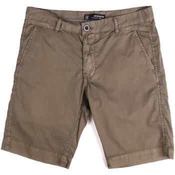 Oblečenie Muži Šortky a bermudy Key Up 2P17A 0001 Hnedá