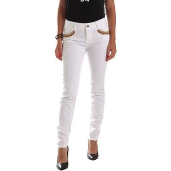 Oblečenie Ženy Nohavice Chinos a Carrot Gaudi 911BD26030 Biely