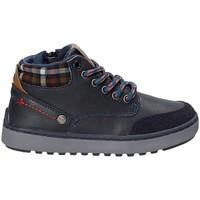 Topánky Deti Turistická obuv Wrangler WJ17219 Modrá