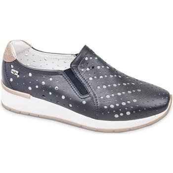 Topánky Ženy Slip-on Valleverde V66384 Modrá