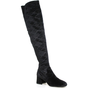 Topánky Ženy Cizmy Nad Kolenà Apepazza SHR06 čierna