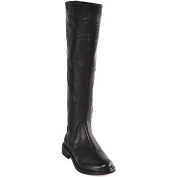 Topánky Ženy Čižmy do mesta Mally 6463 čierna