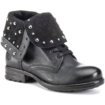 Topánky Ženy Čižmičky Lumberjack SW53001 003 Q12 čierna