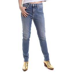 Oblečenie Ženy Rifle Slim  Calvin Klein Jeans J20J212737 Modrá