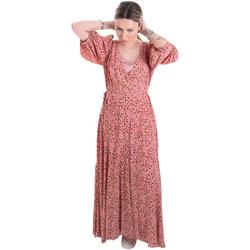 Oblečenie Ženy Dlhé šaty Calvin Klein Jeans K20K201954 Ružová