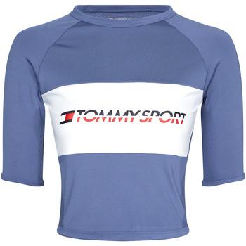 Oblečenie Ženy Tričká s krátkym rukávom Tommy Hilfiger S10S100397 Modrá
