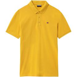 Oblečenie Muži Polokošele s krátkym rukávom Napapijri NP0A4E2M žltá