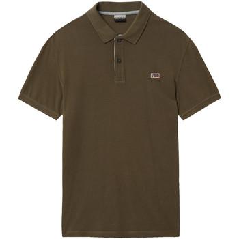 Oblečenie Muži Polokošele s krátkym rukávom Napapijri NP0A4EGD Zelená