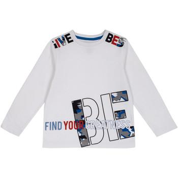 Oblečenie Deti Tričká s dlhým rukávom Chicco 09006867000000 Biely