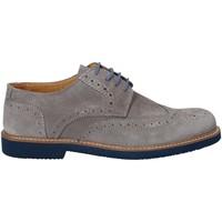 Topánky Muži Derbie Exton 9190 Šedá