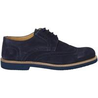 Topánky Muži Derbie Exton 9190 Modrá