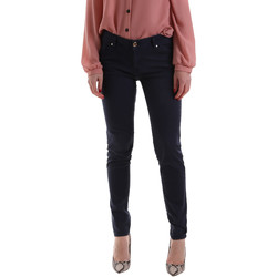 Oblečenie Ženy Nohavice Chinos a Carrot Gaudi 921BD25002 Modrá