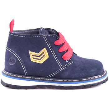 Topánky Deti Polokozačky Melania ME1032B8I.B Modrá