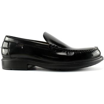Topánky Muži Mokasíny CallagHan 90002 čierna