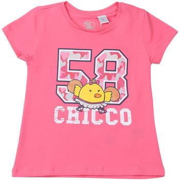 Oblečenie Deti Tričká s krátkym rukávom Chicco 09006955000000 Ružová