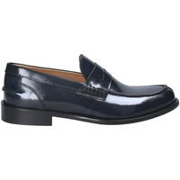 Topánky Muži Mokasíny Exton 102 Modrá