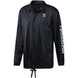 Oblečenie Muži Vetrovky a bundy Windstopper Reebok Sport DT8205 čierna