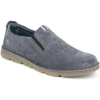Topánky Muži Slip-on Grunland SC4526 Modrá