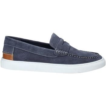 Topánky Muži Mokasíny Lumberjack SM62602 001 A01 Modrá