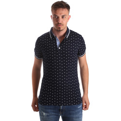 Oblečenie Muži Polokošele s krátkym rukávom Navigare NV82099 Modrá