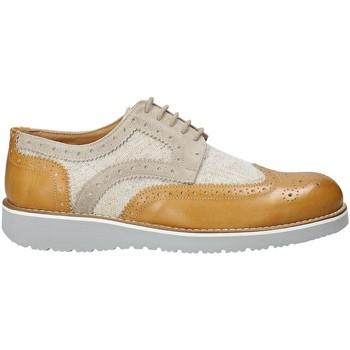 Topánky Muži Derbie Exton 5105 Béžová