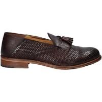 Topánky Muži Mokasíny Exton 3105 Hnedá
