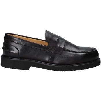 Topánky Muži Mokasíny Exton 9102/ čierna