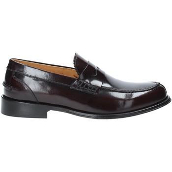 Topánky Muži Mokasíny Exton 102 Červená