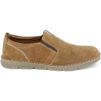 Topánky Muži Mokasíny Grunland SC4526 Hnedá