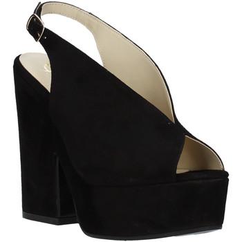 Topánky Ženy Sandále Grace Shoes ALBA 107 čierna