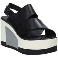 Topánky Ženy Sandále Marco Ferretti 660298MF čierna