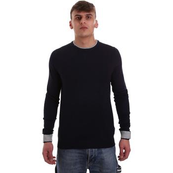 Oblečenie Muži Svetre Gaudi 921BU53012 Modrá