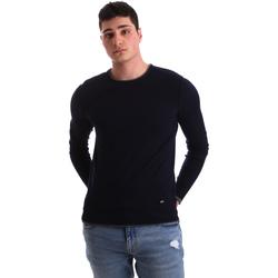 Oblečenie Muži Svetre Gaudi 921BU53036 Modrá
