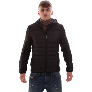 Oblečenie Muži Vyteplené bundy Lumberjack CM69422 001 601 čierna