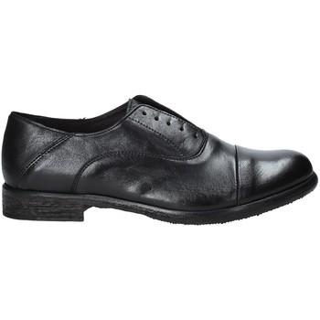 Topánky Muži Derbie Exton 3102 čierna