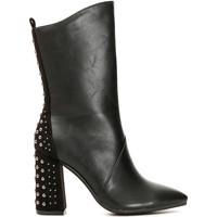 Topánky Ženy Čižmy do mesta Café Noir MA944 čierna